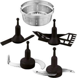 Cestillo., cuchillas, mariposa, pala o cuchara de remover para robot de cocina
